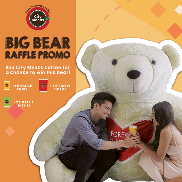 CITY BLENDS: Big Bear Raffle Promo