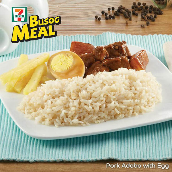 Busog Meal: Pork Adobo with Egg