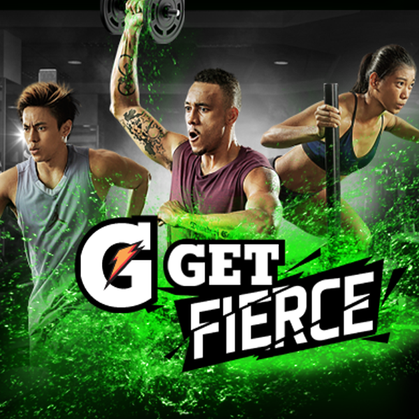 GATORADE: Get Fierce Promo