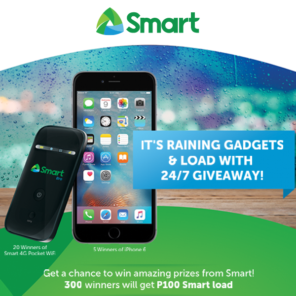 SMART: Rainy Days Promo