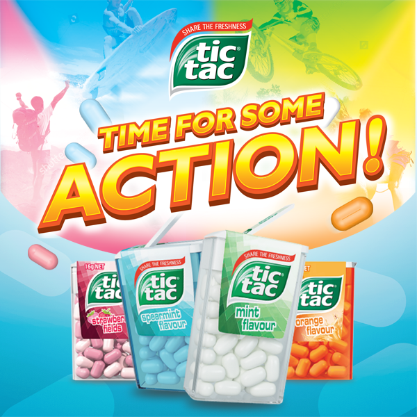TIC TAC: Time for Some Action Promo