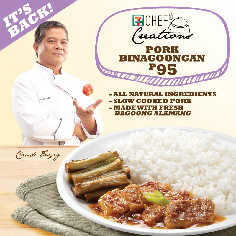 Chef Creations: Pork Binagoongan