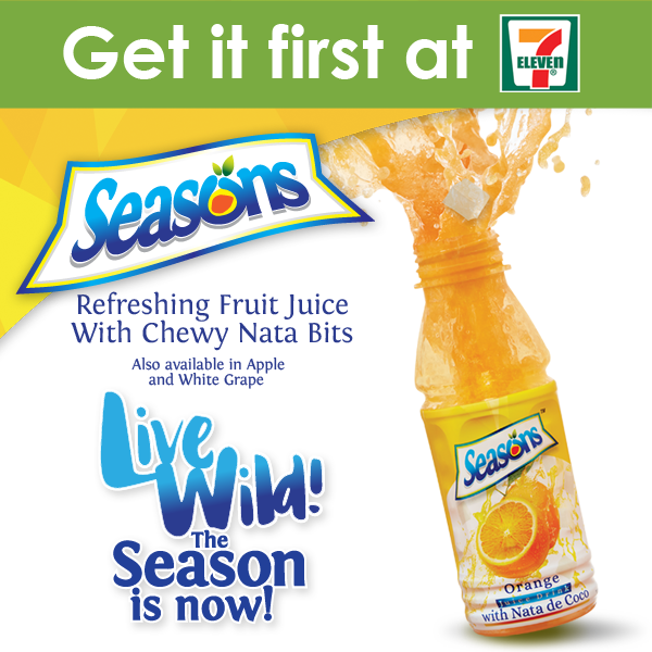 Get it First: Season's Juice with Nata De Coco