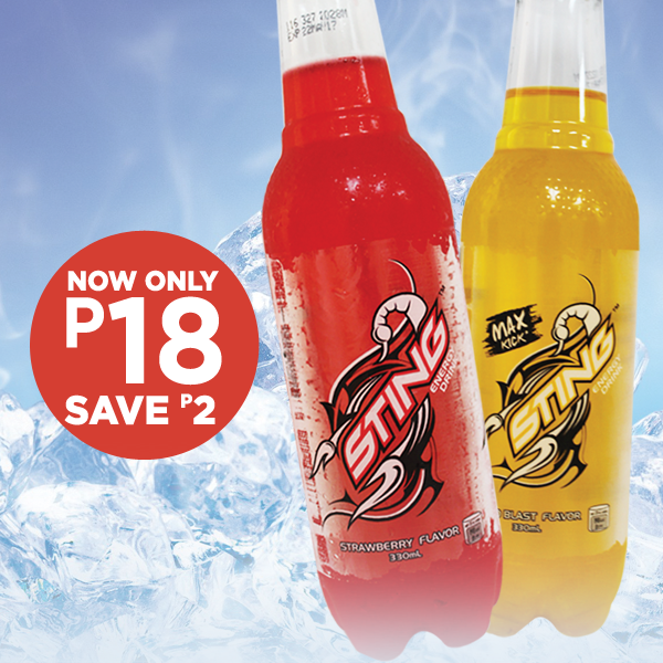 Sting Energy Drink Discount Promo