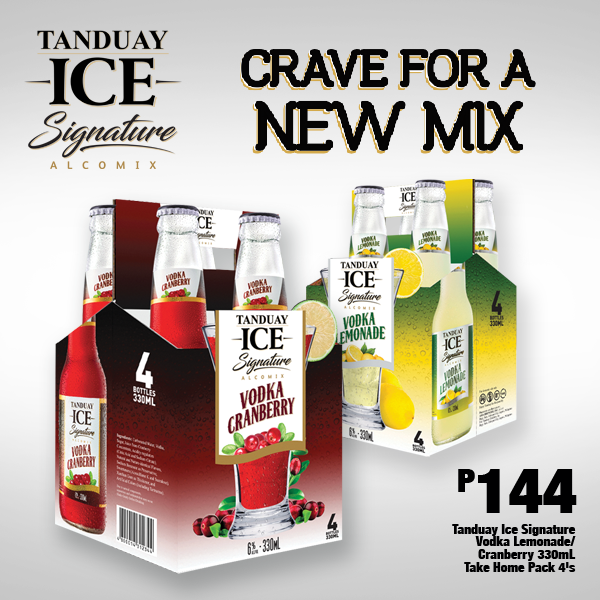 Tanduay Signatures Take Home Pack