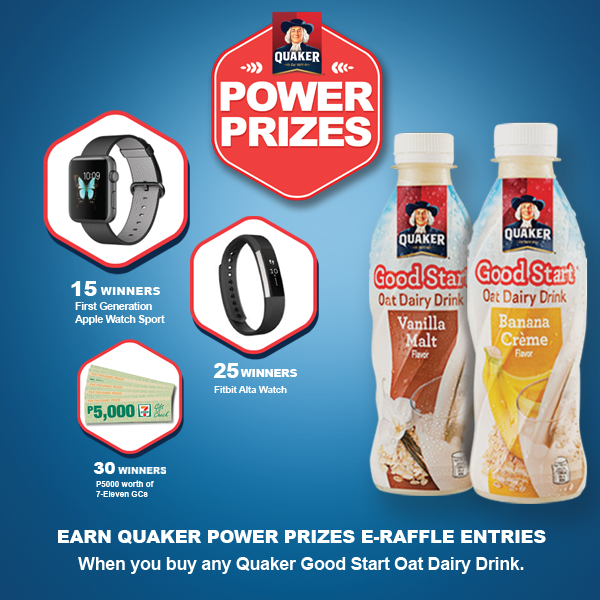 QUAKER: Power Prizes Promo