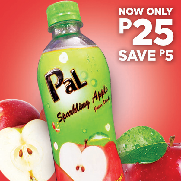 Pal Sparkling Apple Promo