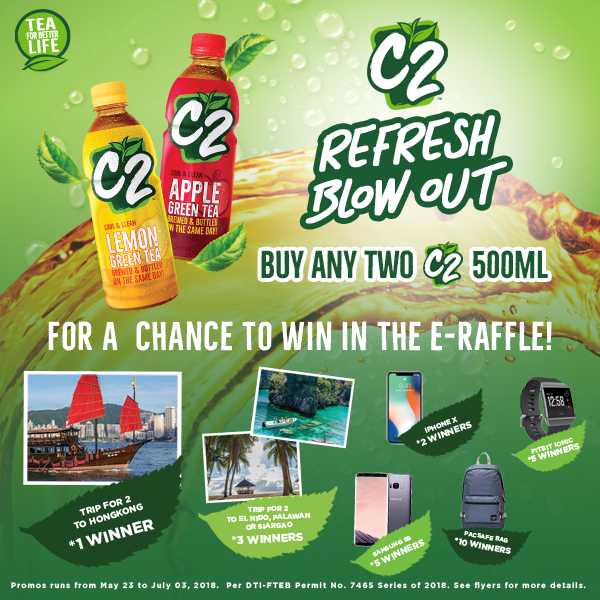 C2: Refresh Blow Out E-Raffle