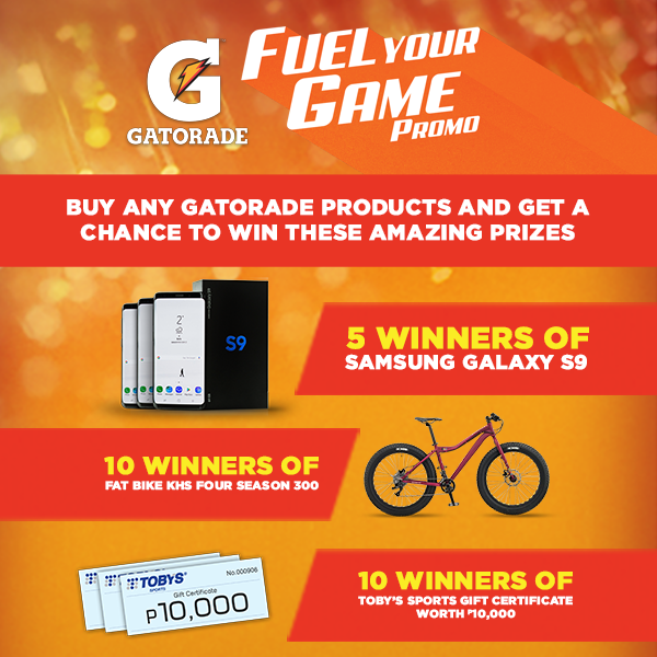 Gatorade Fuel Your Game Exclusive Promo