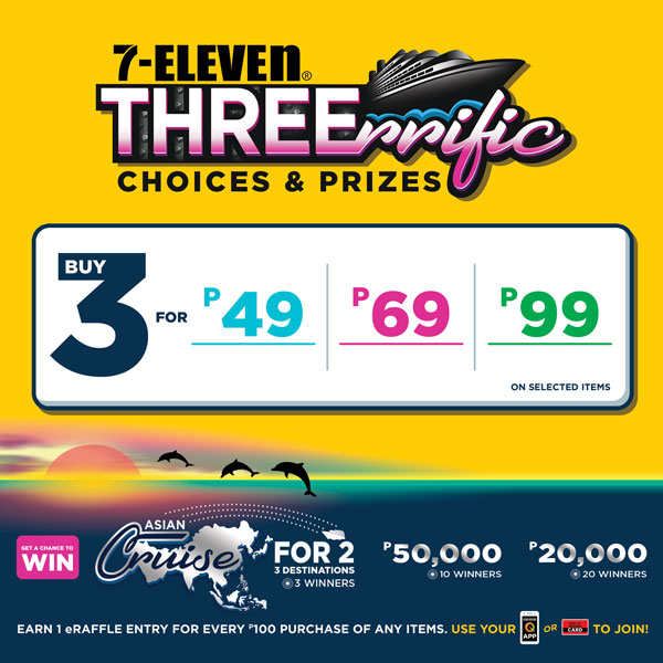 Threerrific Choices and Prizes Summer Promo Winners!