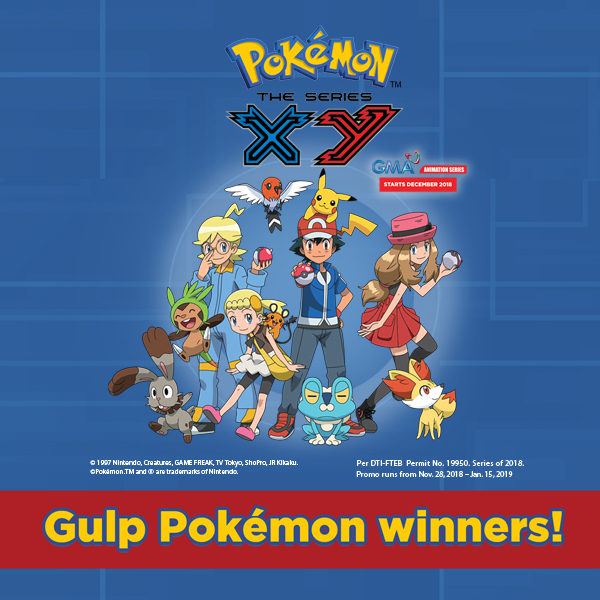 GULP x Pokemon Straws