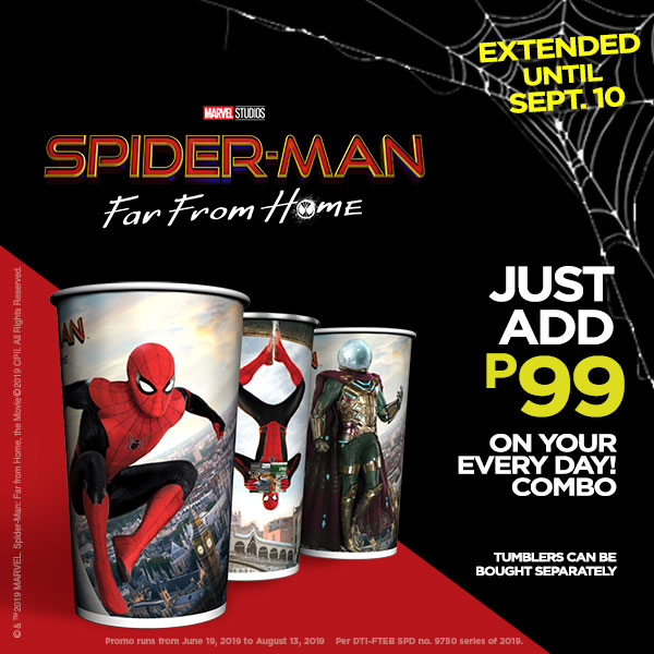 GULP Every Day! Combos x Spiderman: Far From Home Tumblers
