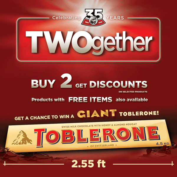 Twogether Promo Winners
