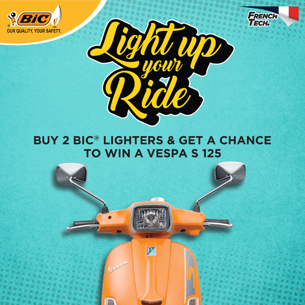 BIC Light Up Your Ride Promo Winners