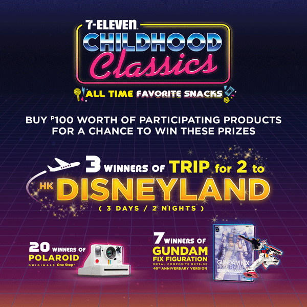 Childhood Classics Promo Winners