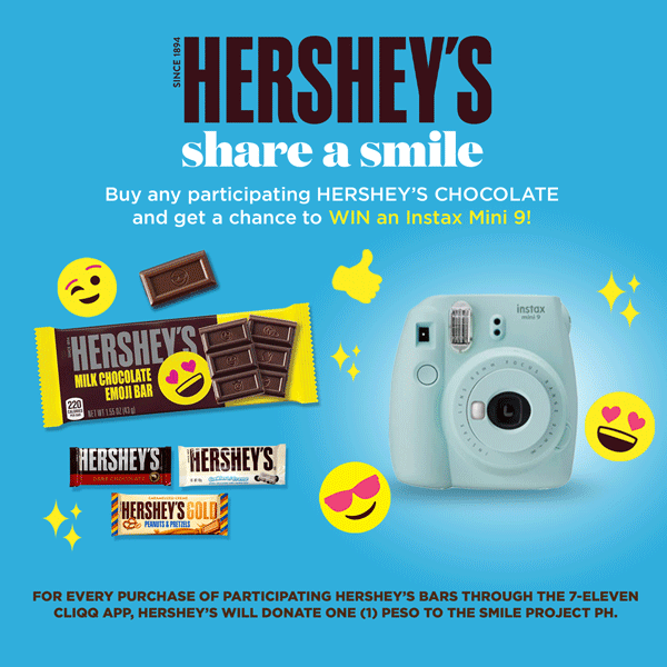 Hershey's Share A Smile Campaign
