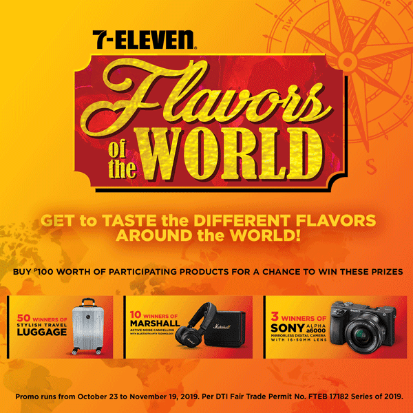 Flavors of the World Promo Winners