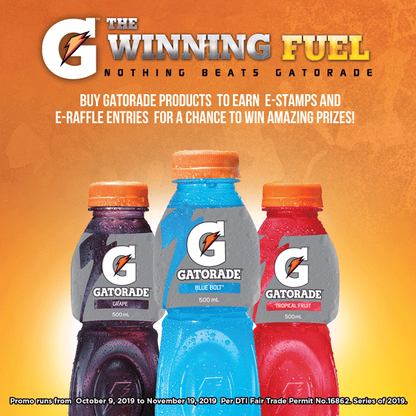 Gatorade Fit 2 Win Exclusive Promo
