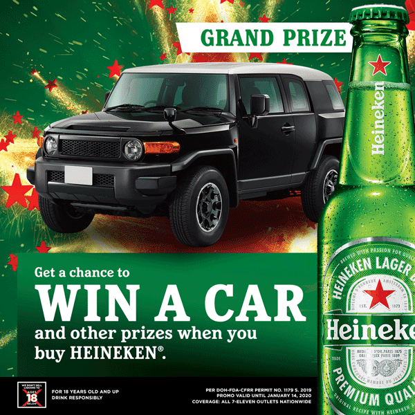 Heineken Holiday Surprises