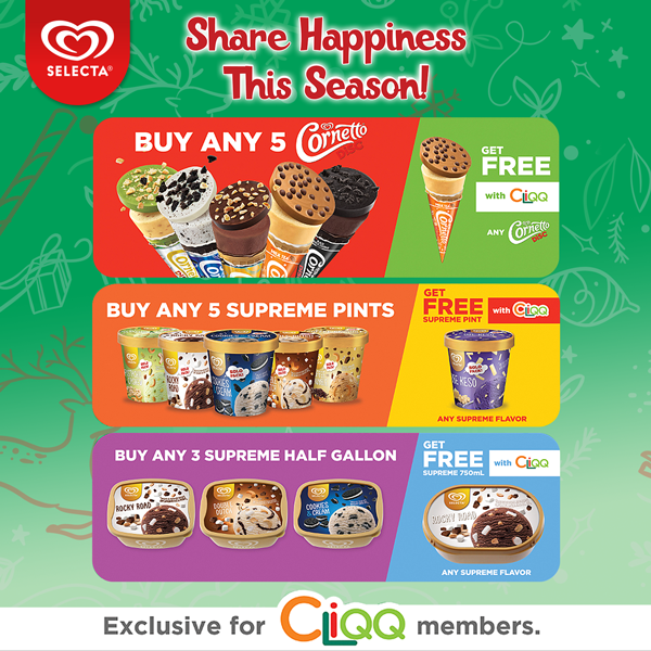 Selecta Christmas Loyalty Promo