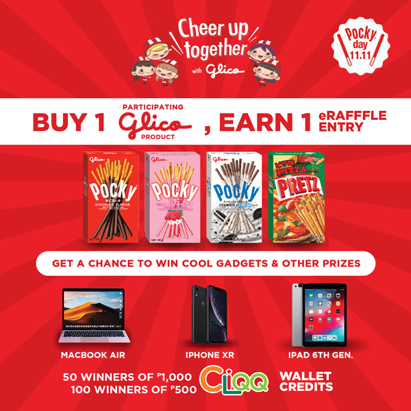 Cheer Up Together with Glico Promo Winners