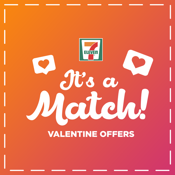 It's A Match! 7-Eleven's Valentine's Day Offers!