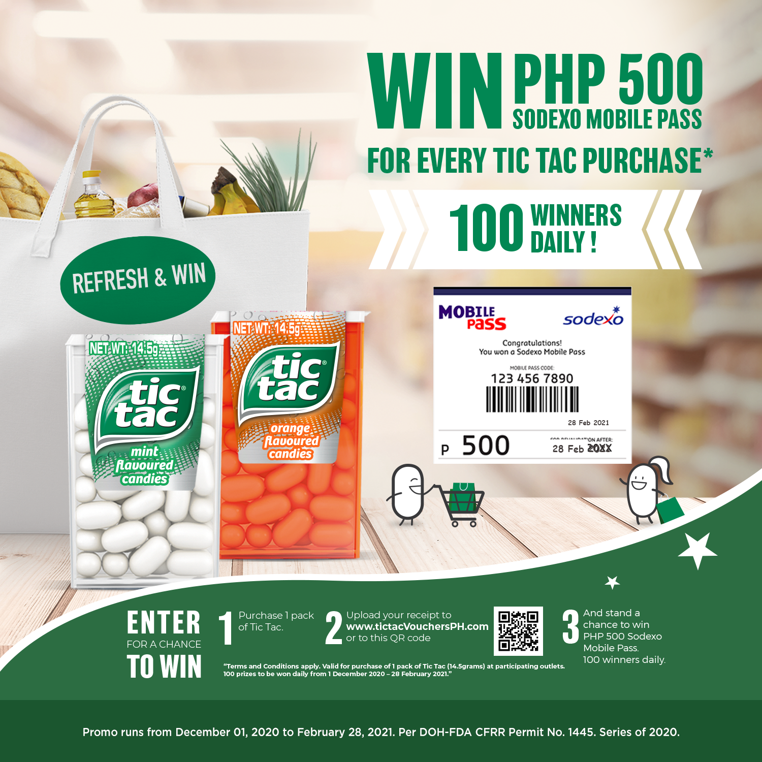 Tic Tac: Tic Tac Refresh and Win